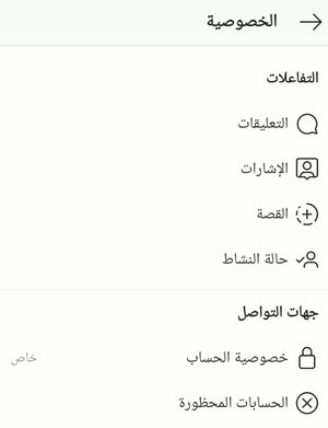 Instagram Privacy Menu Arabic.jpg