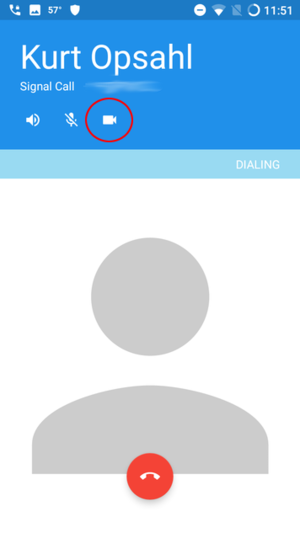 Signal ringing screen with video circled.png