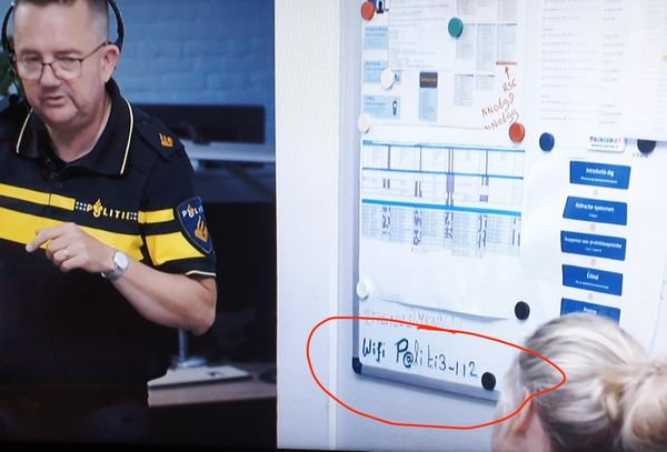 Password Spotted Dutch Police Station Wifi Password TV Interview.jpeg