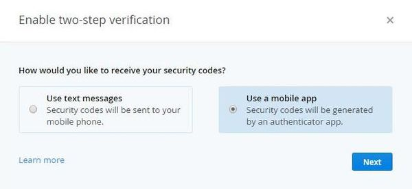 Dropbox Two Steps Authentication Text vs App.jpg