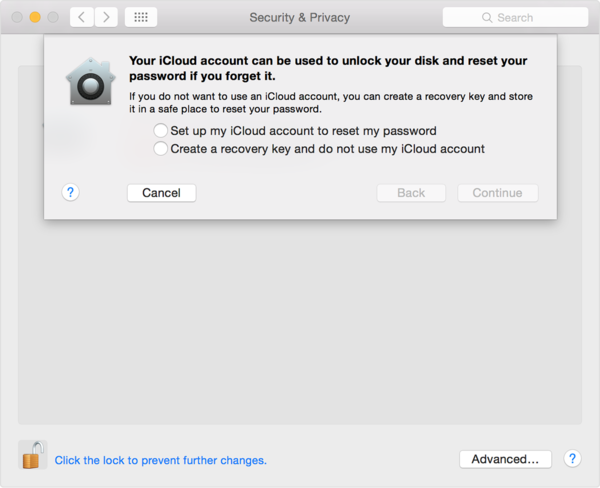 Yosemite-security and privacy-filevault tab-recovery key sheet.png